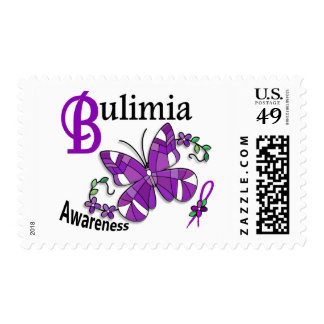 Stained Glass Butterfly 2 Bulimia Stamps