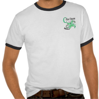 Stained Glass Butterfly 2 Celiac Disease Shirts
