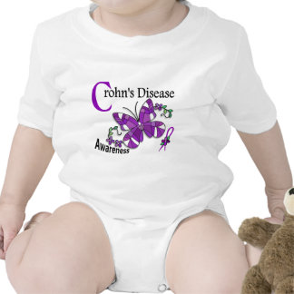 Stained Glass Butterfly 2 Crohn's Disease Romper