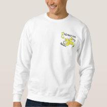 Stained Glass Butterfly 2 Endometriosis Sweatshirt