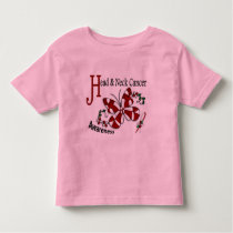 Stained Glass Butterfly 2 Head Neck Cancer Toddler T-shirt