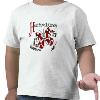 Stained Glass Butterfly 2 Head Neck Cancer Shirt