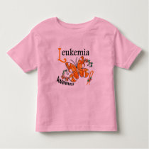 Stained Glass Butterfly 2 Leukemia Toddler T-shirt