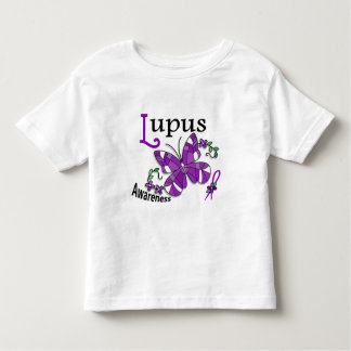 Stained Glass Butterfly 2 Lupus Toddler T-shirt