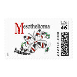 Stained Glass Butterfly 2 Mesothelioma Postage