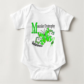 Stained Glass Butterfly 2 Muscular Dystrophy Shirt