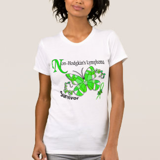 Stained Glass Butterfly 2 Non-Hodgkin's Lymphoma Tanktop