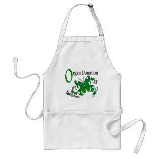 Stained Glass Butterfly 2 Organ Donation Aprons