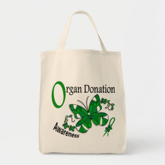 Stained Glass Butterfly 2 Organ Donation Bags
