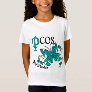 Stained Glass Butterfly 2 PCOS T-Shirt