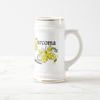 Stained Glass Butterfly 2 Sarcoma Mug