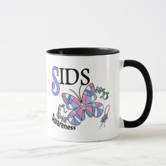 Stained Glass Butterfly 2 SIDS Mug