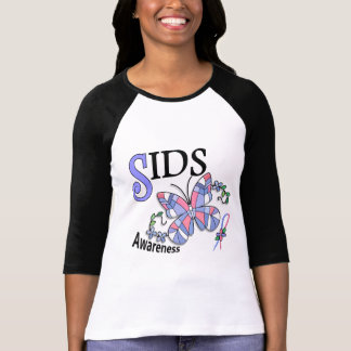 Stained Glass Butterfly 2 SIDS Tees