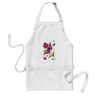 Stained Glass Butterfly Apron