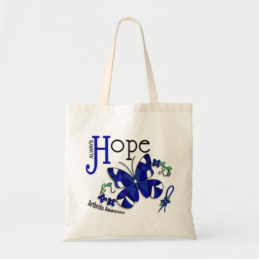 Stained Glass Butterfly Arthritis Bag