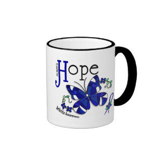 Stained Glass Butterfly Arthritis Mugs