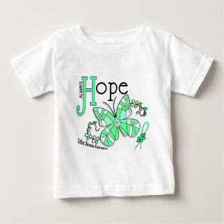 Stained Glass Butterfly Celiac Disease Baby T-Shirt
