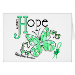 Stained Glass Butterfly Celiac Disease Greeting Card
