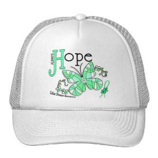 Stained Glass Butterfly Celiac Disease Hat