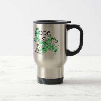 Stained Glass Butterfly Celiac Disease Coffee Mug