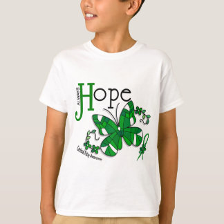 Stained Glass Butterfly Cerebral Palsy T-Shirt