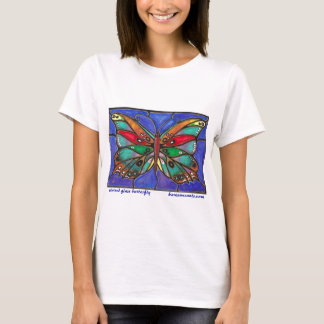 Stained Glass Butterfly--cool art to wear or give! T-Shirt