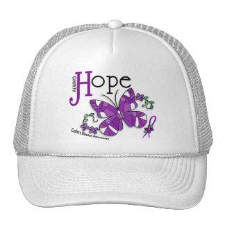 Stained Glass Butterfly Crohn's Disease Trucker Hat