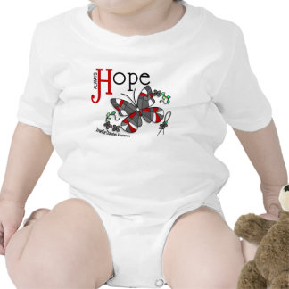 Stained Glass Butterfly Juvenile Diabetes Bodysuit