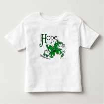 Stained Glass Butterfly Liver Disease Toddler T-shirt