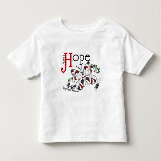 Stained Glass Butterfly Lung Cancer Toddler T-shirt