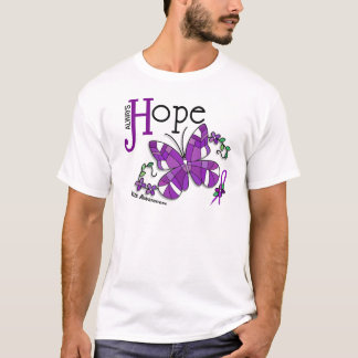 Stained Glass Butterfly Lupus T-Shirt