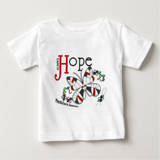Stained Glass Butterfly Mesothelioma Baby T-Shirt