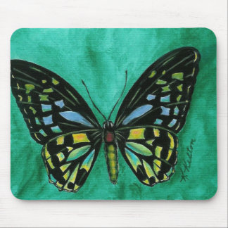 Stained Glass Butterfly Mousepad
