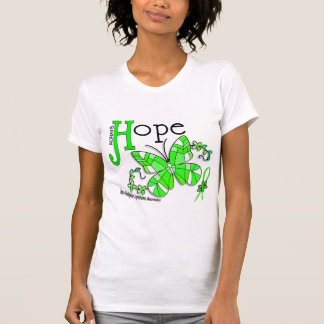 Stained Glass Butterfly Non-Hodgkins Lymphoma T-Shirt