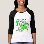 Stained Glass Butterfly Non-Hodgkins Lymphoma Tee Shirts