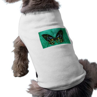 Stained Glass Butterfly Pet Clothing