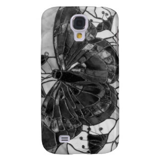 Stained glass butterfly samsung galaxy s4 case