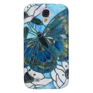 Stained glass butterfly samsung galaxy s4 covers