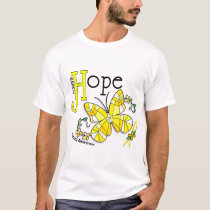 Stained Glass Butterfly Sarcoma T-Shirt