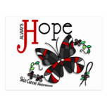 Stained Glass Butterfly Skin Cancer Postcards