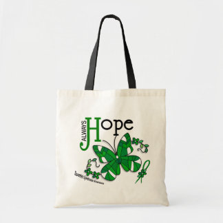 Stained Glass Butterfly Tourette's Syndrome Canvas Bag