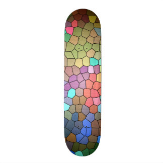 Stained Glass by Shirley Taylor Skateboard