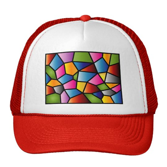 Stained Glass Cap Trucker Hat