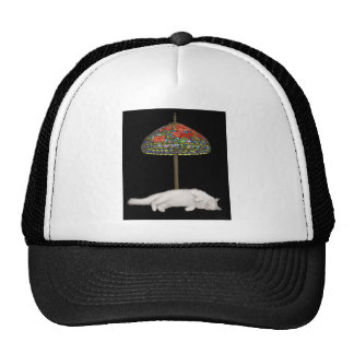 Stained Glass Cat Sunlamp Trucker Hat