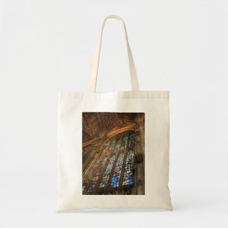 Stained Glass Cathedral Tote Bag