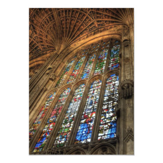 Stained Glass Cathedral Card