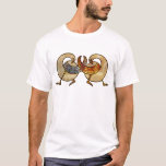 stained glass celtic swans T-Shirt