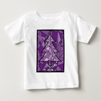 Stained Glass Christmas Tree T-shirt