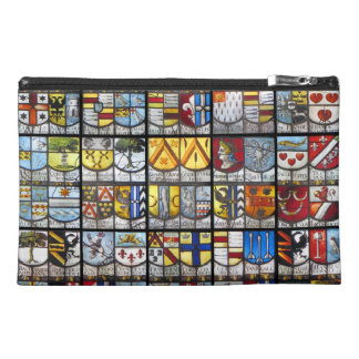 Stained Glass Coat of Arms Travel Accessory Bag