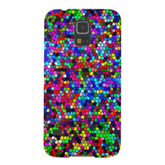 Stained Glass Colors Mosaic Galaxy S5 Cases